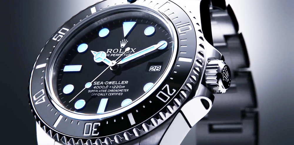 Rolex Sea Dweller 4000 Wrist Shot New Rolex Sea-dweller 4000
