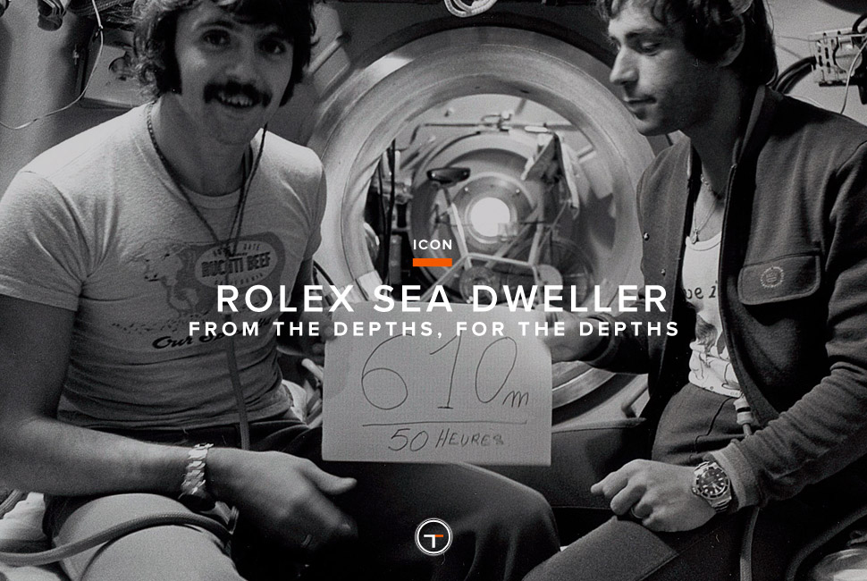 Rolex Sea Dweller Celebrity Icon Rolex Sea Dweller