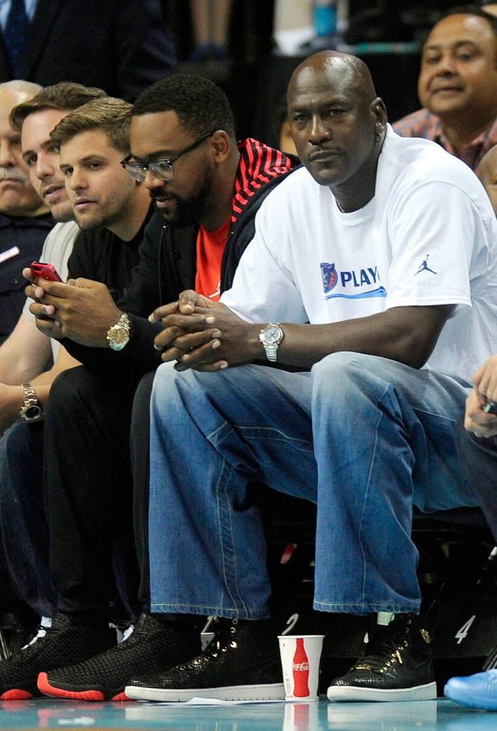 Michael Jordan Wearing Rolex