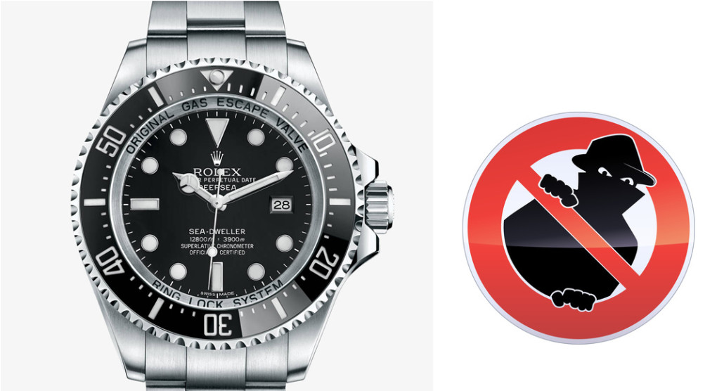 Rolex Deepsea Sea Dweller thief