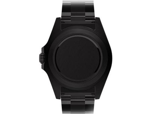 back of Blaken Rolex Watch